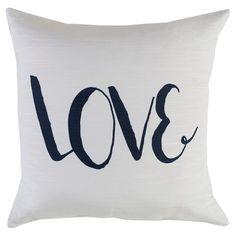 Love Throw Pillow - Surya : Target