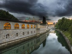 The Ljubljanica River