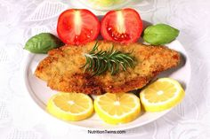 Wiener schnitzel with a Keto and Greek twist is our new Ketonisation adventure. The traditional method is respected, but spices are boosted up! Nutrition Month, Nutrition And Dietetics, Nutrition Tips, Fitness Nutrition, Nutrition Quotes, Nutrition Drinks, Holistic Nutrition, Crispy Fried Chicken, Fried Chicken Recipes