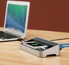 Fancy - simpleDock by Kanex New Technology Gadgets, Cool Technology, Geek Gadgets, Cool Gadgets, Smartphone, Vender Online, Alienware, Usb Hub, Docking Station