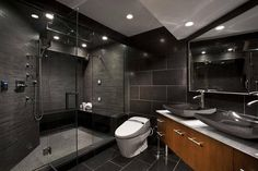Modern Masculine Bathroom