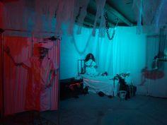 amazing Asylum scene by Halloween Forum member obcessedwithit