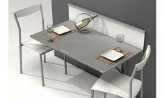 Mesa de cocina Single Wall en un elegante acabado.