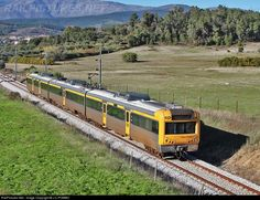 IC 542 intercity train from Covilhã to Lisbon.