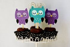 Owl toppers