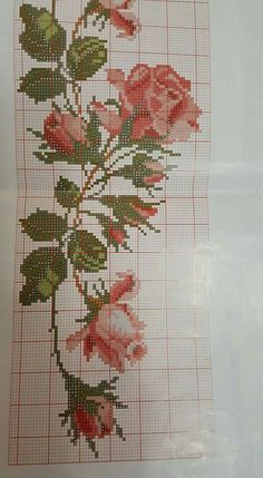 This Pin was discovered by Mor Hardanger Embroidery, Cross Stitch Embroidery, Embroidery Patterns, Hand Embroidery, Cross Stitch Pillow, Cross Stitch Heart, Cross Stitch Flowers, Cross Stitch Designs, Cross Stitch Patterns