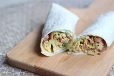 Lunchwrap - Lekker en Simpel Easy To Make Snacks, Quick Healthy Snacks, Healthy Wraps, Snacks For Work, Healthy Recipes, Sandwiches For Lunch, Soup And Sandwich, Brunch, No Cook Meals
