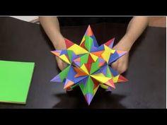 Como hacer una estrella de 20 puntas en origami- Hogar Tv por Juan Gonzalo Angel - YouTube