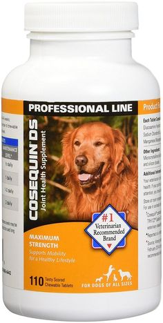 Cosequin DS Maximum Strength Cosequin DS Maximum Strength Chewable Tablets for Dogs is the #1 veterinarian recommended joint supplements for dogs. It ... #maximum #strength #dogs #supplement #joint #cosequin