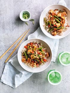 This Chinese classic gets a wholesome makeover by replacing the meat with loads of fresh vegetables. Korean hot pepper paste isn't traditionally found in ma po tofu, but it adds a nice kick. Look for it in the Asian section of your grocery store, or subst
