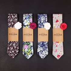 Which one of these Grand Frank ties would you pick?#tailorbox