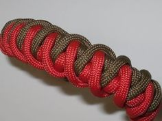 "Paracord Armband ""Cyclone Wrap"" in Deutsch auch als Blog"