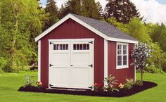 color scheme for my shed. i shall pretend it is a mini barn