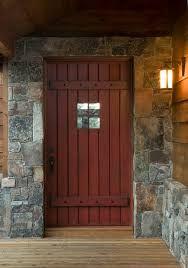 timber rustic front door - Google Search