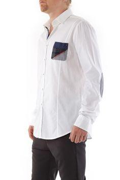 Camicia Uomo Absolut Joy (VI-C640) colore Bianco