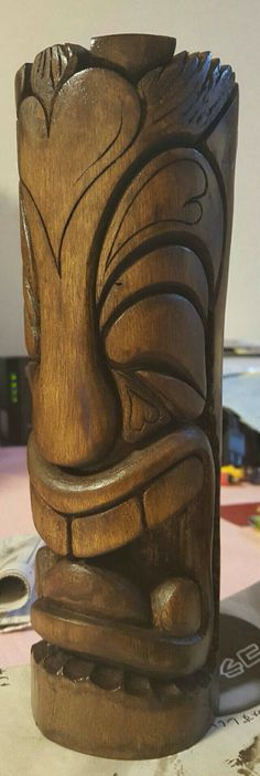 My carving tiki✨