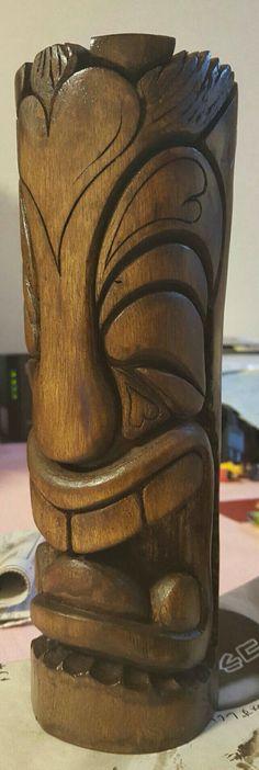 My carving tiki✨
