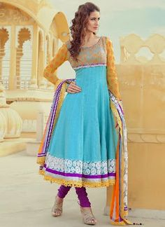 New 2014 Salwar Kameez Designed For Indian And Pakistani Women