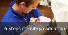The six steps of embryo adoption explained. www.nrfa.org