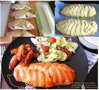 Faszerowana pierś z kurczaka w cieście francuskim - kulinaria kurczak,ciasto francuskie - kobiece inspiracje