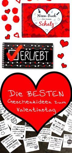 Die BESTEN Geschenkideen zum Valentinstag - idatschka.de Playing Cards, Diy Valentine, Love Letters, Playing Card Games, Game Cards, Playing Card