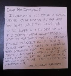 20 Of The Most Ridiculous Bad Parking Windshield Notes To Ever Happen 22 - https://www.facebook.com/diplyofficial