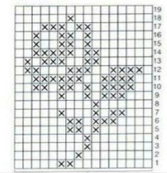 Picasa Web Albums. Filet crochet pattern diagram