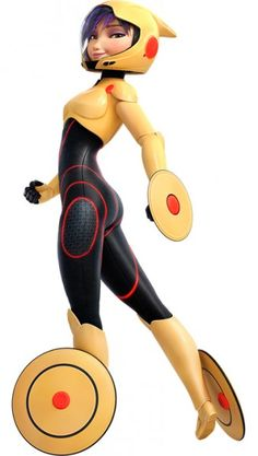 Big Hero 6 - Gogo Tomago Cosplay Costume Version 02
