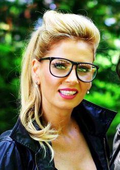 Andreea Bănică Geek Chic, Geek Stuff, Glasses, Fashion, Geek Things, Eyewear, Moda, Eyeglasses, Fashion Styles