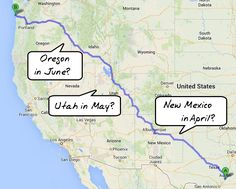 Planning RV Travels Part II -> Selecting Pace, Map Routing & Campsites