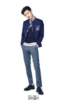 iKON Hanbin for SMART SCHOOL UNIFORMS