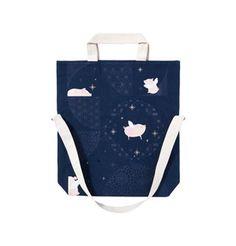 New Ear Happy Dream Pig Eco Bag Starbucks Merchandise, Suitcase, Ear, Happy, Ser Feliz, Briefcase, Being Happy