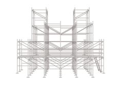 <i>PIXEL CLOUD</i> Turns Ordinary Scaffolding Into A Fully Immersive Experience   The Creators Project