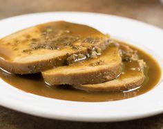 Slow Cooker Maple Herb Tofurky Roast