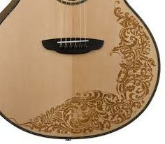 Lovely acoustic guitar art