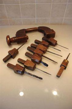European Wooden Brace with Many Pods | eBay