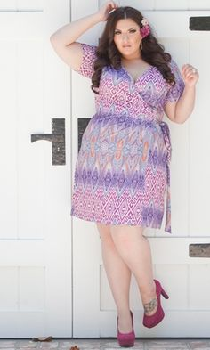 Evangeline Wrap Dress from SWAK Designs!