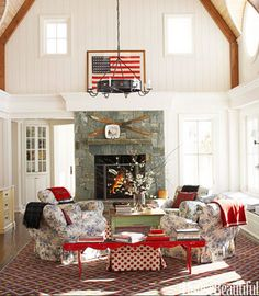 Red, White, and Blue Weekend Wandering » Talk of the House