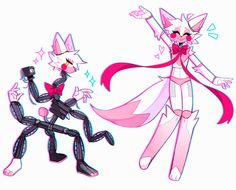 minx's art blog — no thoughts........only mangle Freddy S, Fnaf Drawings, Cute Drawings, Mangle Fanart, Foxy And Mangle, Fnaf Wallpapers, Funtime Foxy, Mlp Fan Art, Fnaf Sister Location