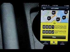 Pothole Season - Integrated Campaign. Para celebrar su 20 aniversario, Taxi ha decidido hacer algo para la gente de Montreal.