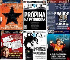 Post  #FALASÉRIO!  : Capas para não esquecermos toda a corrupção que o ...