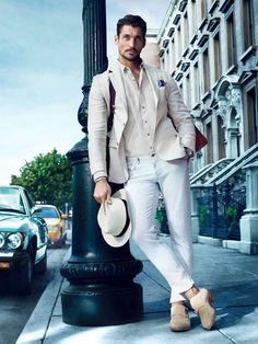 O Look Certo: White e Off-White em Combinação casual - Canal Masculino