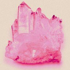 a pretty cuarzo rosado