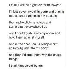 Griever costume XD love it