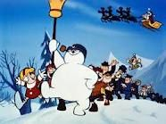 Frosty the Snowman..one of my all time favorites at Christmas! Yes, I did cry when Frosty melted. Didn't you?!!