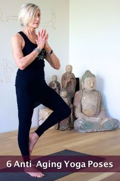 6 Anti-Aging Yoga Poses...http://improvedaging.com/6-anti-aging-yoga-poses/