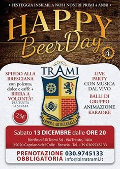 Happy Beer Day Trami 2014 http://www.panesalamina.com/2014/31220-happy-beer-day-trami-2014.html