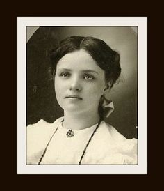 Have You Ever Wondered What Your Great Grandmother Looked Like?  Well, this could be her, but we'll never know, because there are no markings on this gorgeous photograph. A LIFETIME LEGACY State of Mind blog post