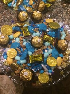 Blue and gold Snayniye #snayniye #tooth #firsttooth