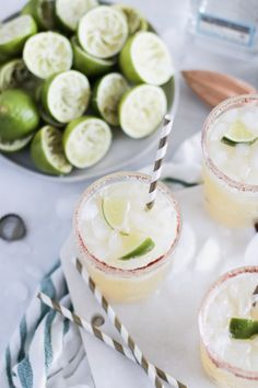 When you can't decide between a margarita, or a Corona, sip on a Beer Margarita; the best of both worlds! Made with fresh squeezed lime juice. #tequila #margarita #cincodemayo